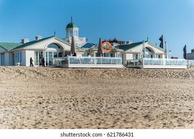 APRIL 2017, Noordwijk, The Netherlands - beachclub