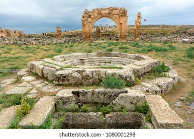 April 21, 2018, Sanliurfa, Turkey, Ruins of the ancient city of Harran in mesopotamia (It is one of the first science centers in the world. The first university in the world is here)