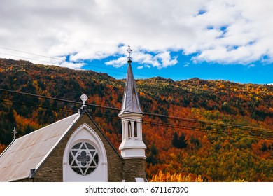April 24 2017, Arrowtown Church, Arrowtown, New Zealand
