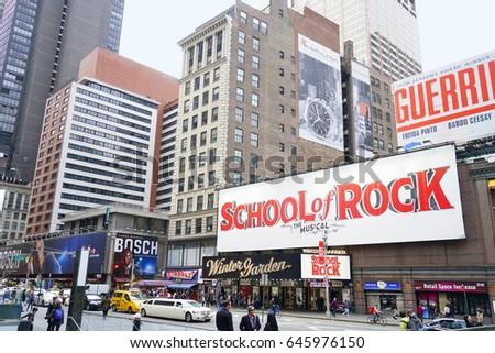 April 28 2017 School Rock Theatre Stock Photo Edit Now 645976150