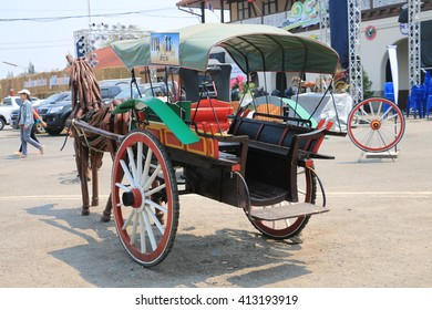 April 3, 2016 : Lampanf city of Carriage? Livable City?City of Joy Carnival  at Lampang train station in The north of Thailand, Lampang, Thailand on April 3 , 2016
