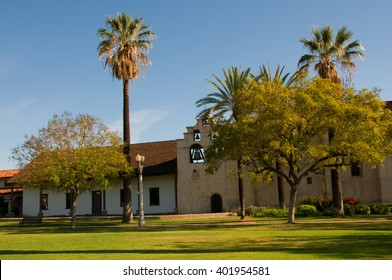 April 3, 2016: Photo of Mission San Gabriel Arcangel ,which is located in San Gabriel Californa USA.