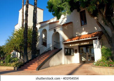 April 3, 2016: Photo of San Gabriel City Hall,which is located in San Gabriel Californa USA.