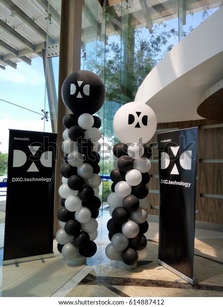 April 4th 2017 Cyberjaya Malaysia Dxc Stock Photo (Edit Now