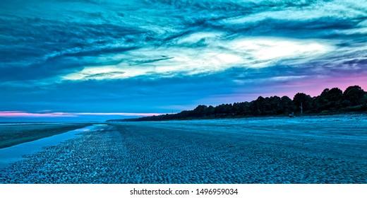 An April sunset on Hilton Head Island, SC.