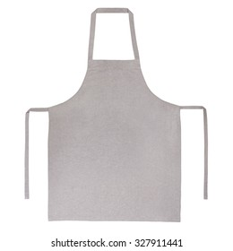 Apron isolated on white background
