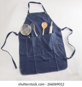 Apron with Utensils