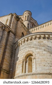 Apse of Santa Maria la Mayor church collegiate in the town of Toro, Zamora, Castile and Leon, Spain