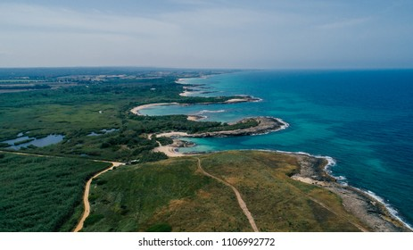Apulia Italy blue Sea summer Coastline