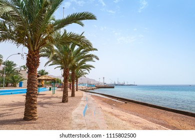 Aqaba beach view, Hashemite Kingdom of Jordan