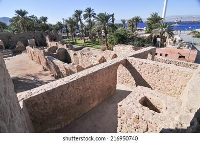 Aqaba Fort in Aqaba, South Jordan, Arabia, Middle East.