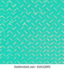 Aqua fashion print