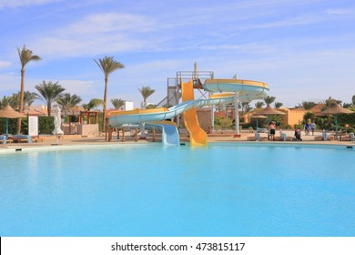 Aqua park in hurghada, water park in Egypt