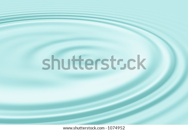 aquamarine colored water ripple