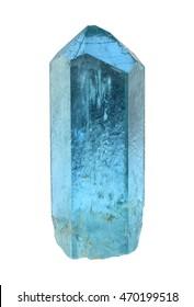 Aquamarine from Jos Plateau, Nigeria.