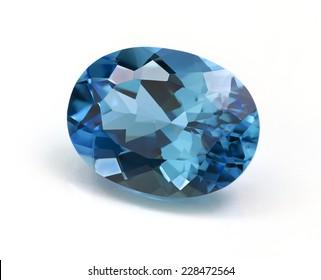 Aquamarine or Topaz