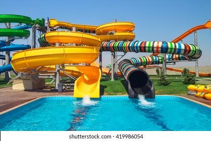 Aquapark sliders