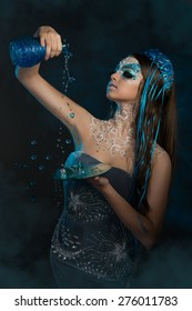 Aquarius or Water-Carrier woman