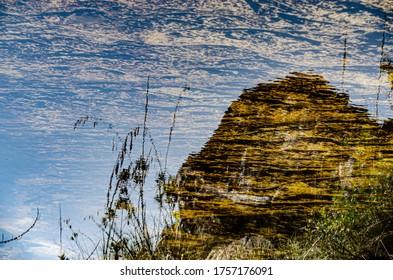 Aquatic landscape from Minas Gerais State, Brazil