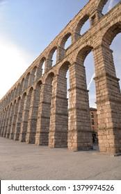 Aqueduct of Segovia, Spain, Europe