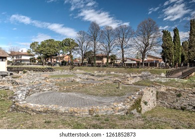 Aquileia, an ancient Roman town in northern Italy