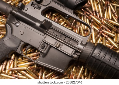 AR15 with .223 ammunition