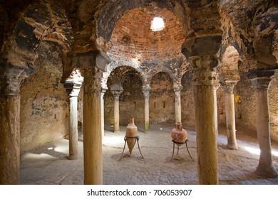 Arab bath in the Palma de Mallorca, Spain