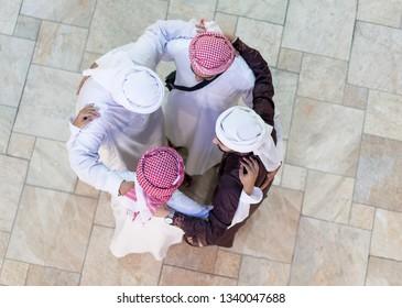 Arab business people team
