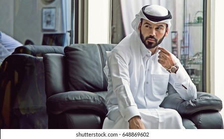 Arab Businessman With Vision ( Businessman Arab Confident Vision )