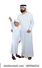 Arab Father And Son ( Shopping Festival Sale )