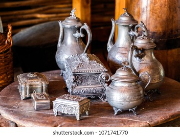 Arab old metal utensils