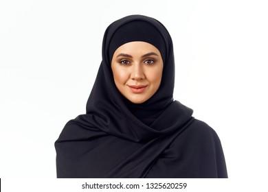 arab woman in burqa
