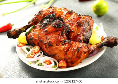 Arabian ,Arabic cuisine- grilled ,tandoori chicken