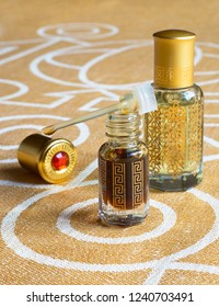Arabian attar in a mini bottle. Concentrated a perfume.