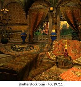 Arabian Backgound