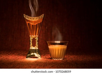 Arabian coffee with censer