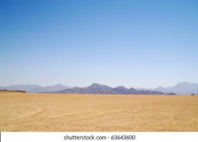 Arabian desert and mountain, Africa