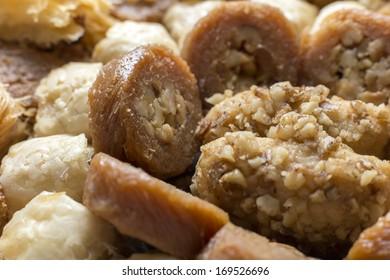 Arabian dessert collection