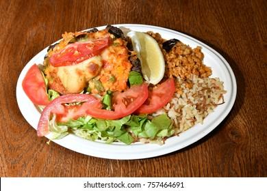 Arabian fast food, fresh food