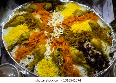 Arabian Food with chicken