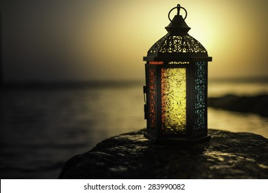 Arabian Lamp Background