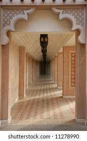 Arabian style artistic aisle in Madinatm Jumeirah