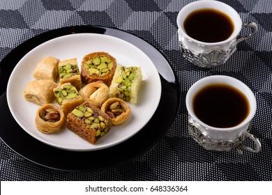Arabian Sweets for Ramadan and Eid, Assorted oriental sweets