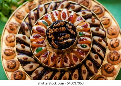 arabian sweets round table