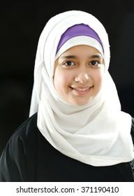 Arabic beautiful girl portrait
