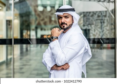 Arabic businessman in Dubai