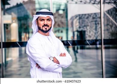 Arabic businessman in Dubai