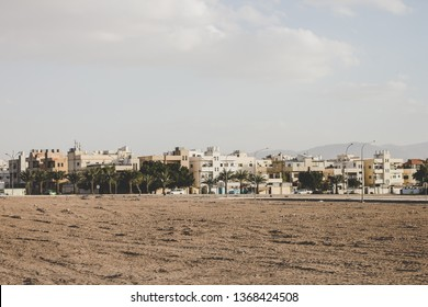 Arabic city ghetto slums street poor district panorama photography from Middle East third world country
