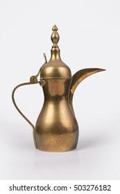 Arabic Coffee Dallah - isolated