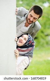 Arabic couple together